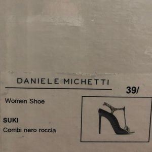 Daniele Michette Shoes - Rare Daniele Michetti exotic leather shoes